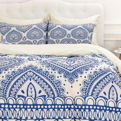 Delia 4 Piece Duvet Cover Set Linens Bedding Pillows