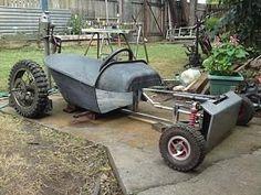 Afbeeldingsresultaat voor wheelbarrow go-kart rat rods