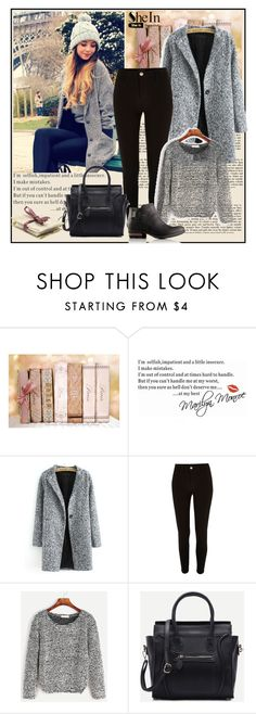 """""""Shein 1/XI"""" by merima-p ❤ liked on Polyvore featuring WALL, River Island and SOREL"""