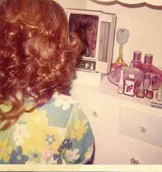 Prom Makeup, 1972 | by ozfan22