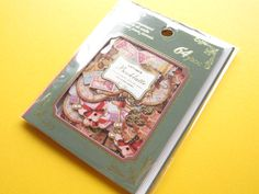 Classic Sticker Flakes Sack Antique Booklatte *Memories Q-LiA (71401)