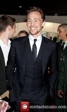 Tom Hiddleston and his amazing smile.