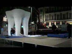 #Publicidad / #Advertising:   Sensodyne. El diente más grande del mundo