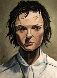 Margarete Saatchi Art, Art Projects, Original Paintings, My Arts, Portrait, Canvas, Face, Artworks, Pearl