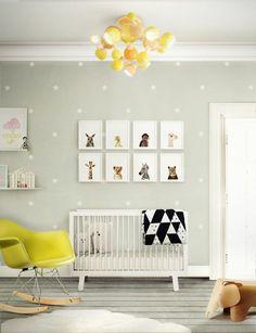 babyzimmer-gestalten-deko-ideen-name-wandtatoo | babyzimmer ... - Babyzimmer Gestalten Tendenzen Ideen