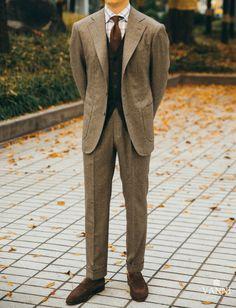 iqfashion: Houndstooth flannel blazer Eurotex Source:...