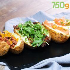 3 recettes de pommes de terre au four Filet Mignon, Conservation, Videos, Diet Recipes, Baked Potato, Nutrition, Cooking, Apple Bread, Veggie Bake