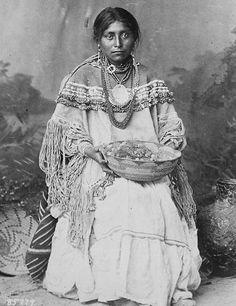 Antique Apache wedding dress
