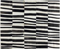 """Ellsworth Kelly - Study for """"Cité"""": Brushstrokes Cut into Twenty Squares & Arranged by Chance, Collage of brush and black ink on off-white woven paper Ellsworth Kelly, Motifs Textiles, Textile Patterns, Print Patterns, Hard Edge Painting, Merian, Colour Field, Art Institute Of Chicago, Art Moderne"""