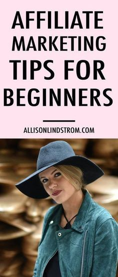 Ready to make money online by using affiliate marketing? For example, you can make money as an Amazon affiliate and earn commissions but it can be a tricky pond to swim in. Here are my favorite tips for beginners!    Affiliate Marketing Tips for Beginners