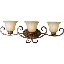 View the Maxim MX 22253 Transitional 3 Light Bathroom Fixture from the Fremont Collection at LightingDirect.com.
