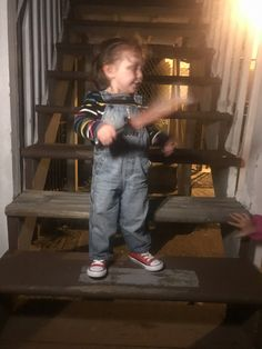 Chucky Costume For Kids, Last Halloween, 1 Year Olds, Sons, Costumes, Fashion, Moda, Dress Up Clothes, Fashion Styles
