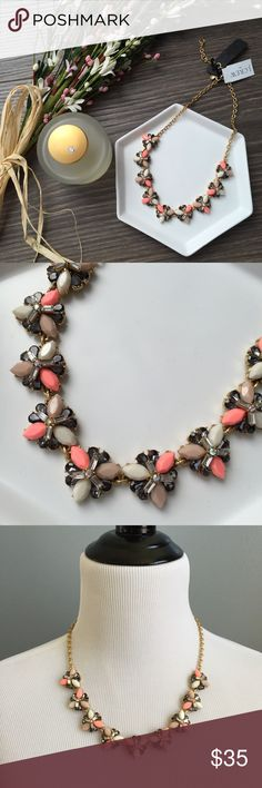 J. Crew statement necklace This J. Crew Factory necklace is perfect for any spring outfit! Brand new tags and never worn. Will come with dust bag. J. Crew Jewelry Necklaces