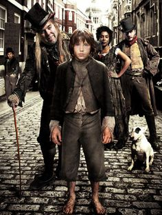 BBC version of Oliver Twist from 2007. Timothy Spall as Fagin.