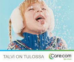Talvi on tulossa! Lue Care.comin vinkit talveen valmistautumiseen. http://magazine.fi.care.com/talveen-valmistautuminen/