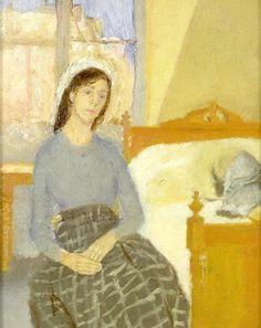 The Artist in her Room in Paris, Gwen John. (English, 1876 - 1939)\