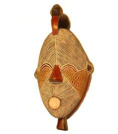 MASCARA KIFWEBE SONGYE CONGO.