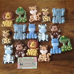 """35 Likes, 3 Comments - The Vintage Cookie Jar (@thevintagecookiejar) on Instagram: """"My Zoo Animal collection of cookie cutters come to life!!! I designed these little fella's and had…"""""""
