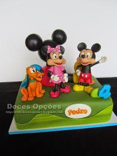Doces Opções: O aniversário do Pedro na casa do Mickey Mouse
