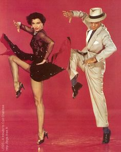 Cyd Charisse , Fred Astaire.. These two really had real star quality. Love this old shot. Kind of encompasses the term Hollywood for me. MH