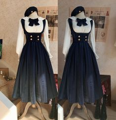 LolitaWardtobe - Bring You the latest Lolita dresses, coats, shoes, bags etc from Trustworthy Taobao indie Brands. We never resell Lolita items from untrustworthy Taobao stores. Old Fashion Dresses, Old Dresses, Vintage Dresses, Vintage Outfits, Fashion Outfits, Pretty Outfits, Pretty Dresses, Beautiful Dresses, Cool Outfits