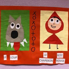 Paper Bag Crafts, Book Crafts, Diy Crafts, Fairy Tale Crafts, Toddler Rooms, Red Riding Hood, Little Red, Nursery Rhymes, Fairy Tales