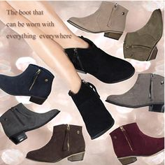 What cute ankle boot