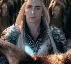 Okay I think I might actually be in love with this gif. The wind gently blowing his hair away. *SWOON* #Thranduil