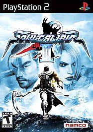Soul Calibur III 3 Sony PlayStation 2 video game PS 2 TEEN NTSC U/C