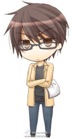 Takano from Sekai-Ichi Hatsukoi... love this anime. they need to update the manga