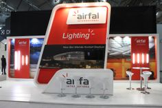 @Airfal #stand at this present edition of @Light_Building #exhibition at @messefrankfurt designed and developed by @gecom_ec