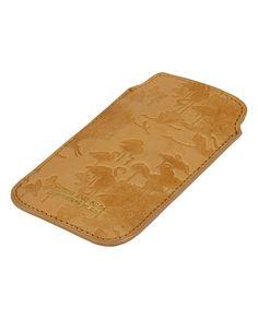 Leather Flamingo Smartphone Case  - Scotch 40e