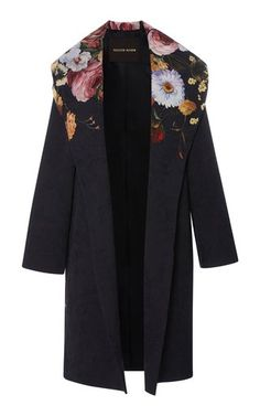 Floral Coat by Naeem Khan