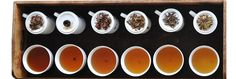 All About Tea  There are six main types of tea – white, yellow, green, black, oolong and puerh. While they look and taste quite different, they all come from the same plant, Camellia sinensis, of which there are two key subspecies: Camellia sinensis sinensis, the kind originally grown in China; and Camellia sinensis assamica, which is native to the province of Assam in north-east India. While that might seem limited, these two subspecies produce more than 400 varieties of tea.
