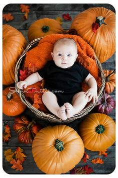 New Born Baby Photography Picture Description Cute idea for newborn photos! Fall Baby Pictures, Baby Boy Photos, Holiday Pictures, Halloween Baby Pictures, Fall Pics, Baby Pumpkin Pictures, Fall Baby Pics, Fall Photos Kids, Baby Photo Shoots