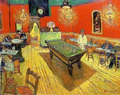 Night Café, Vincent van Gogh