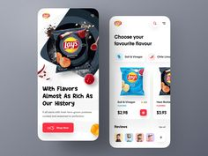 Lay's Website - Mobile concept by Farzan Faruk 👑 for Orizon: UI/UX Design Agency on Dribbble
