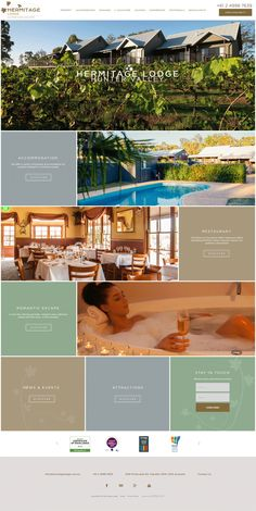 Hermitage Lodge is a multi award winning boutique hotel nestled on 10 hectares…