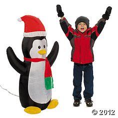 Oriental Trading Co - Airblown Penguin