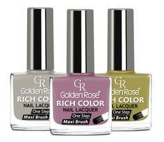 RICH COLOR NAIL LACQUER - TRWAŁY LAKIER DO PAZNOKCI: http://goldenrose.pl/produkty/paznokcie/lakiery-do-paznokci-/rich-color-nail-lacquer--10.html