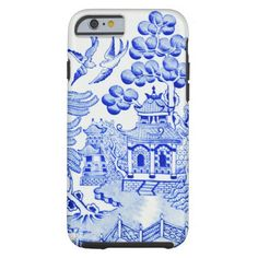 Blue Willow Chinoiserie Cell Case iPhone 6 Case