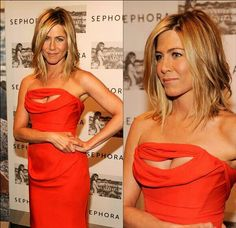 Jennifer Aniston🌷 cleavage offered a big smile in this traffic-stopping Vivienne Westwood cutout dress, which she donned to launch her perfume in New York on May. Jennifer Aniston Bob, Hair Color And Cut, Great Hair, Hair Dos, New Hair, Hair Inspiration, Cool Hairstyles, Short Hair Styles, Hair Makeup