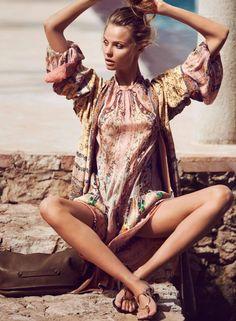Magdalena Frackowiak for Elle France March 2016 by David Bellemere