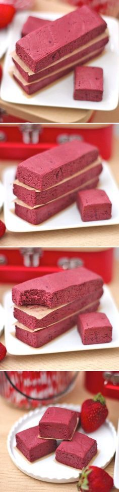 Healthy Red Velvet Fudge?? Yes, that exists. Sweet, dense, rich and decadent, yet sugar-free, high fiber, high protein, gluten free and vegan too!