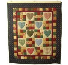 Shop Quilt Designs in Heart and Nine Patch Design at Almost Amish ... : amish quilts designs - Adamdwight.com