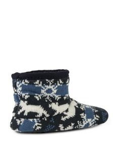 Furry Knit Boot Slippers | Woolworths.co.za