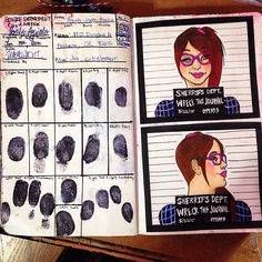 This page is for handprints or fingerprints.