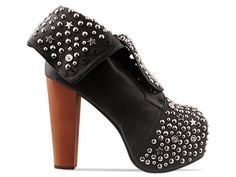 alien heels jeffrey campbell | Jeffrey Campbell Lita Stud in black / silver