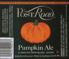 Post Road Pumpkin Ale... delicious!