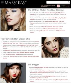Fall Collections, Mary Kay, Eye Color, Contour, Glamour, Eyes, Model, Beauty, Contouring